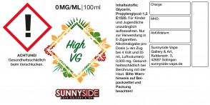 Sunnyside High VG (85/10/5) - Basis